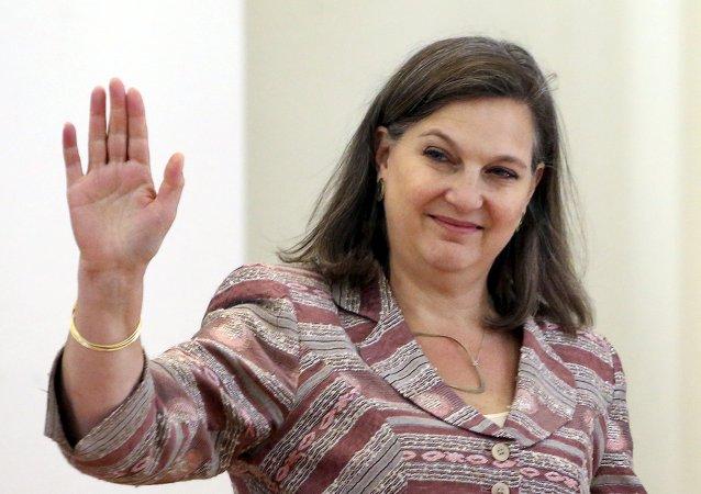 Victoria Nuland, subsecretaria de Estado de EEUU para Europa y Eurasia