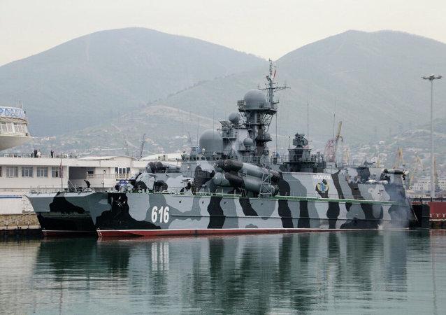 Aerodeslizador Samum de la Armada de Rusia