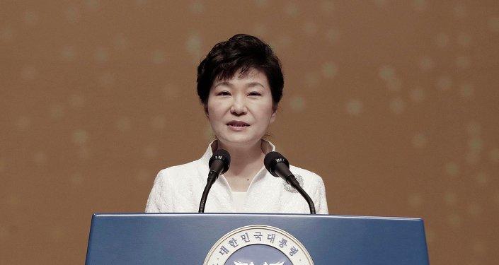 Park Geun-hye, presidenta de Corea del Sur (Archivo)