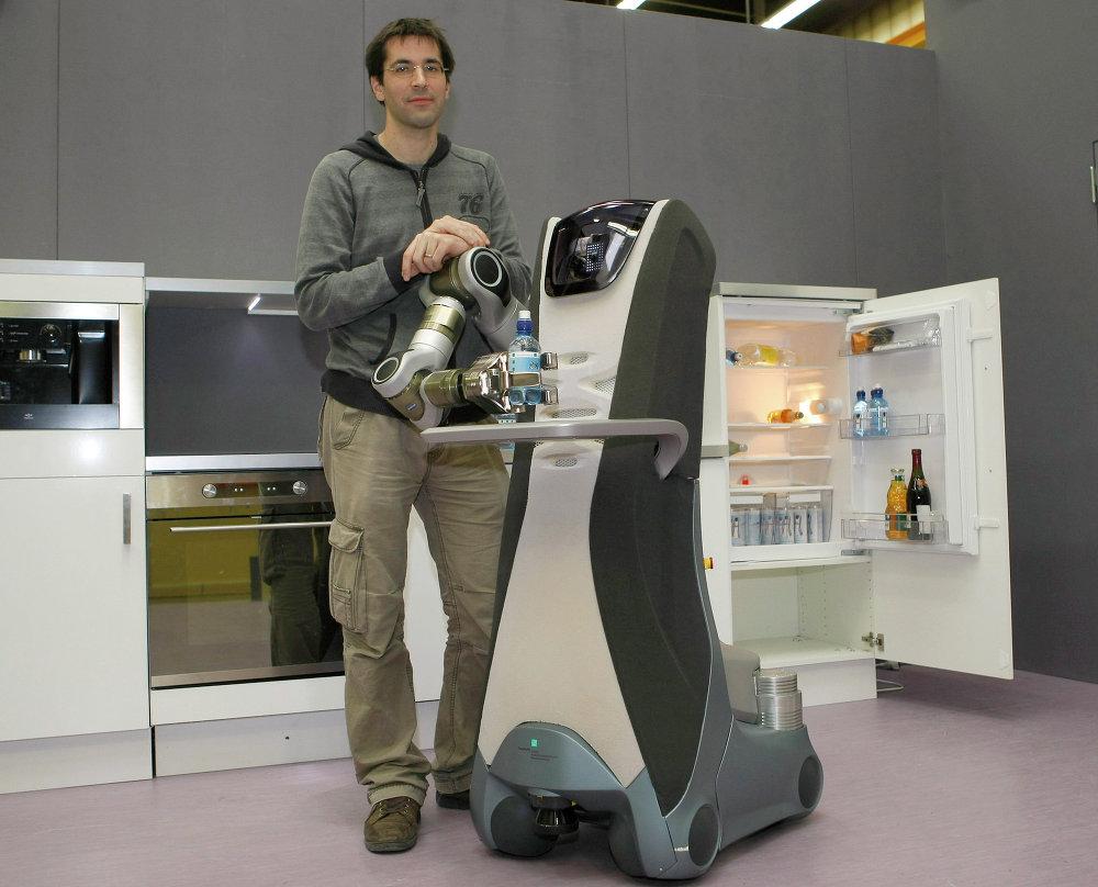El robot polivalente Care-O-bot 3