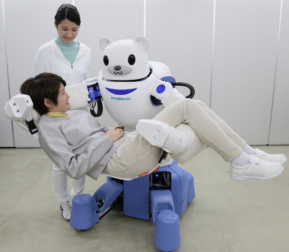 El Robear japonés puede cuidar de los enfermos y los ancianos