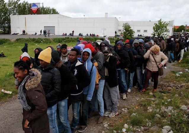 Inmigrantes africanos en Francia (archivo)