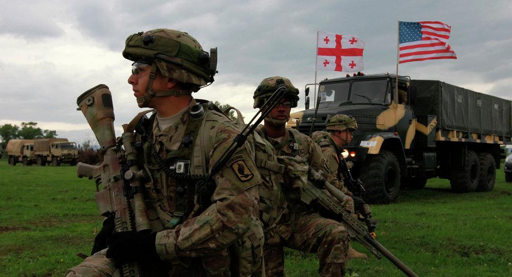 Maniobras de la OTAN en Georgia (Archivo)