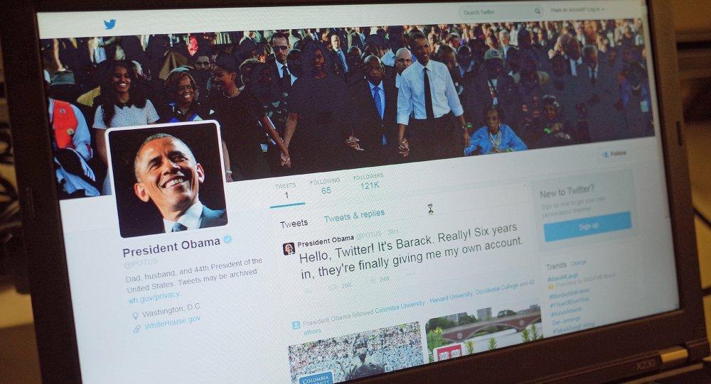 Obama bate un récord mundial con su nueva cuenta de Twitter