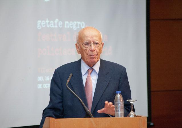 Emilio Lledó galardonado con el V Premio José Luis Sampedro (Archivo)