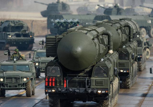 Misil balístico intercontinental Tópol-M