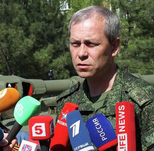 Eduard Basurin, vicecomandante de las milicias de la República Popular de Donetsk