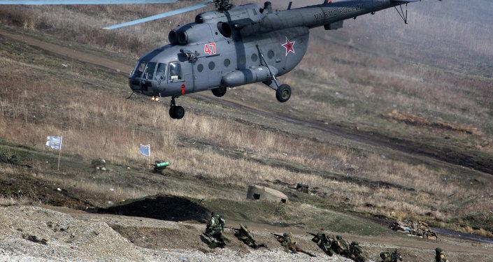 Ejercicios de las Tropas del Interior de Rusia (Archivo)