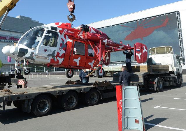 La empresa Russian Helicopters entregará más de 240 helicópteros en 2015