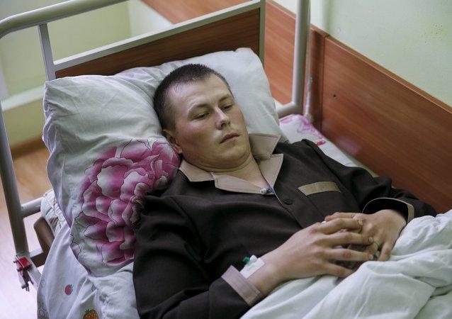 Alexandr Alexandrov, uno de los rusos detenidos en Donbás