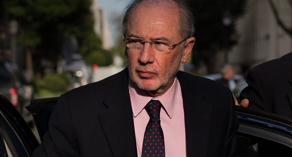 Rodrigo Rato, exdirector gerente del Fondo Monetario Internacional