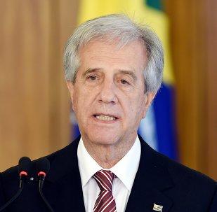 Tabaré Vázquez, presidente de Uruguay (archivo)