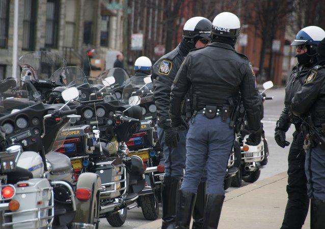 Los agentes de la policía de Baltimore