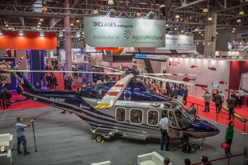 El helicóptero polivalente AW139