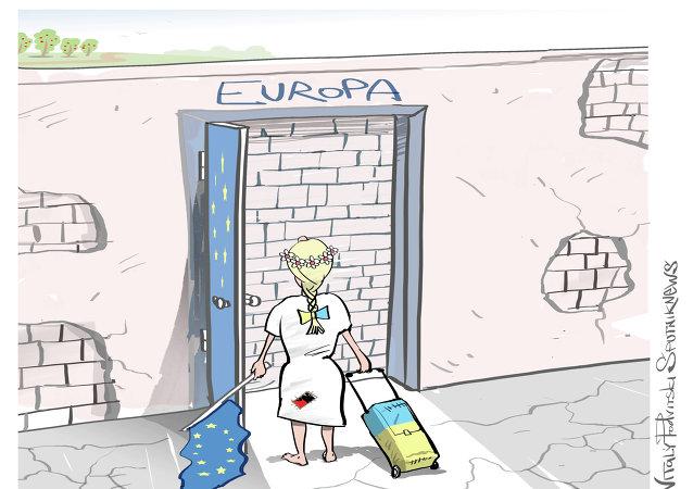 Ucrania a las puertas de Europa