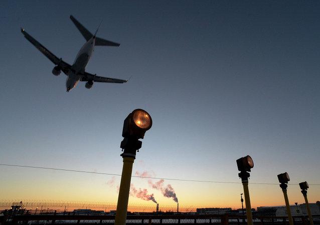 Aeropuerto de Vnúkovo (archivo)