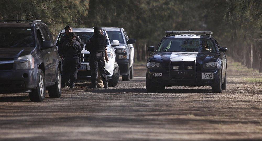 Policía federal de México (archivo)