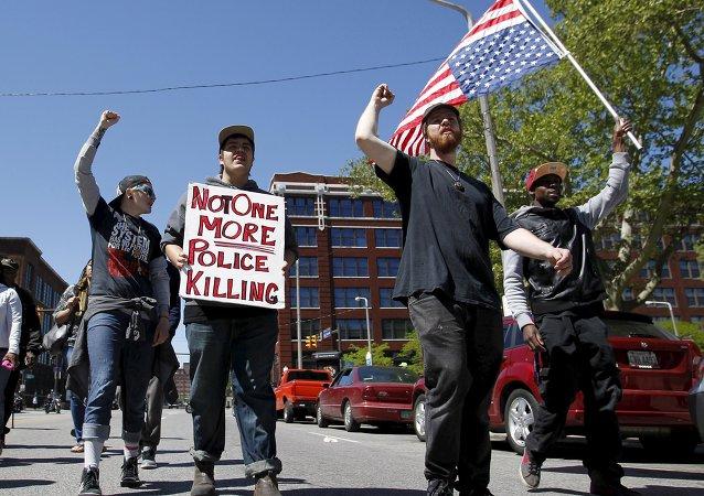 Protestas en Cleveland