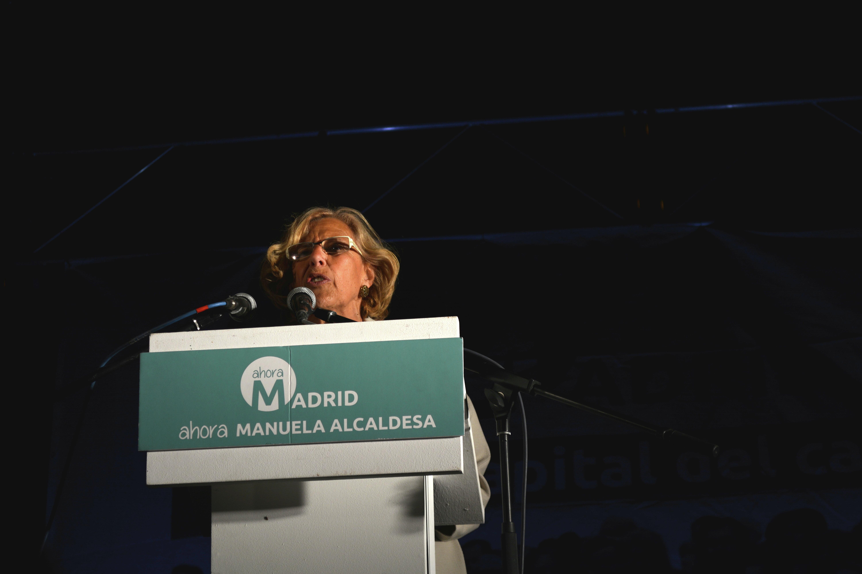 Manuela Carmena, la candidatura de Ahora Madrid