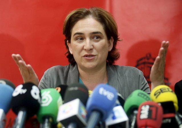 Ada Colau, candidata de Barcelona en Comú