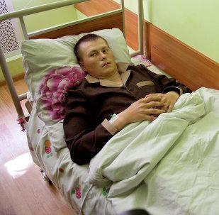 Alexandr Alexandrov, uno de los ciudadanos rusos detenidos en Donetsk