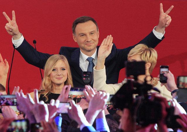 Andrzej Duda, presidente electo de Polonia