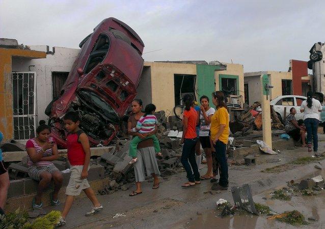 Un tornado causa al menos 13 muertos en el norte de México