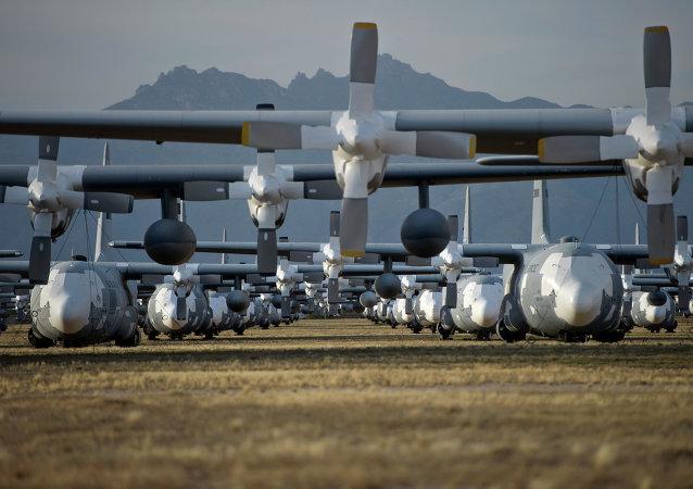 La base de la Fuerza Aérea estadounidense Davis-Monthan