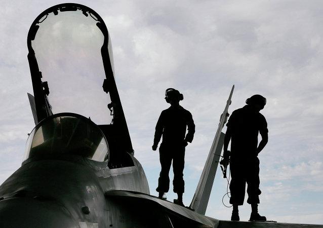 Aeródromo militar de EEUU (Archivo)
