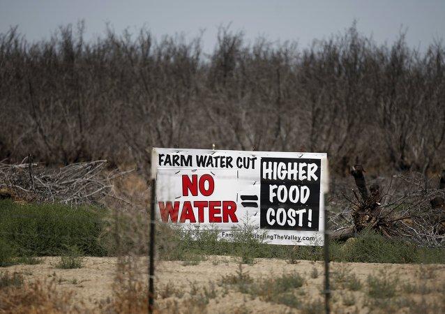 California sufre la más devastadora sequía desde hace cuatro años. 5 de mayo de 2015