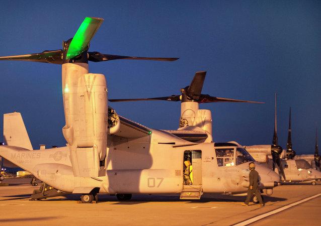 Aviones militares de las FFAA de EEUU en la base de Morón de la Frontera