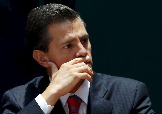 Enrique Peña Nieto, presidente mexicano (archivo)