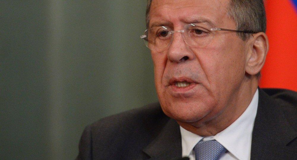 Serguéi Lavrov, ministro ruso de Asuntos Exteriores de Rusia