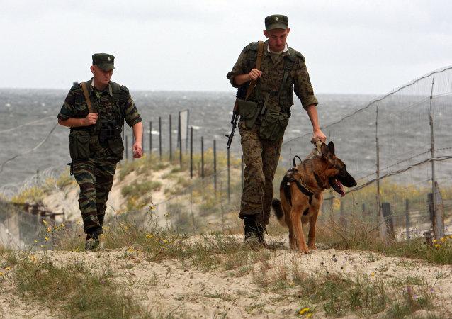 Guardias de frontera rusos superan el doble los resultados de 2013