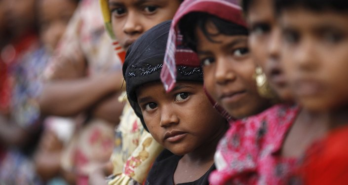 Inmigrantes rohinyas (archivo)