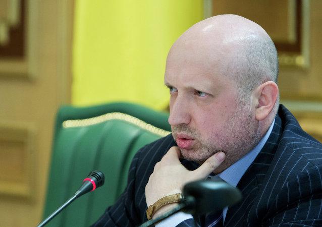 Alexandr Turchínov, exsecretario del Consejo de Seguridad Nacional y Defensa de Ucrania (archivo)