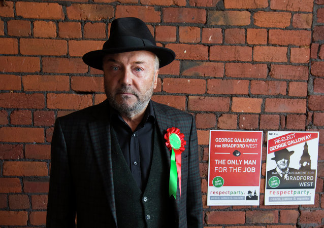 George Galloway, líder del partido Respect