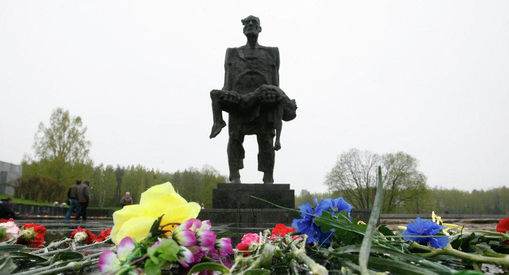 Monumento Jatín en la región de Vitebsk