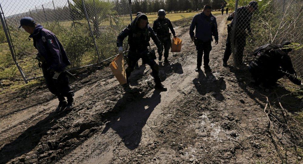 Policías mexicanos en Jalisco