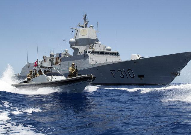 Fragata noruega Fridtjof Nansen