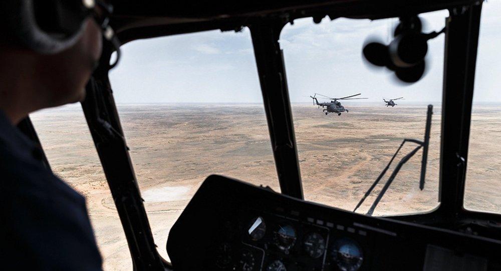 Helicópteros de la Fuerza Aérea rusa
