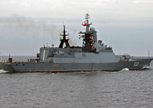 Corbeta rusa Boiki (imagen referencial)