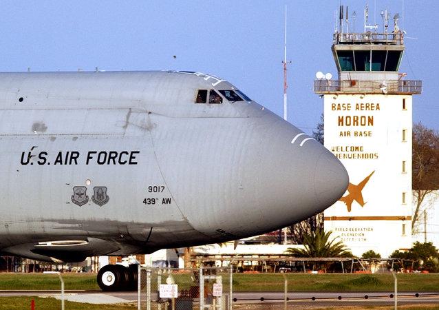 Aviones militares de EEUU en la base de Morón de la Frontera (Archivo)