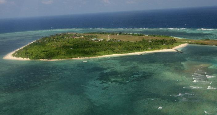 Islas disputadas de Nansha, también conocidas como Spratly