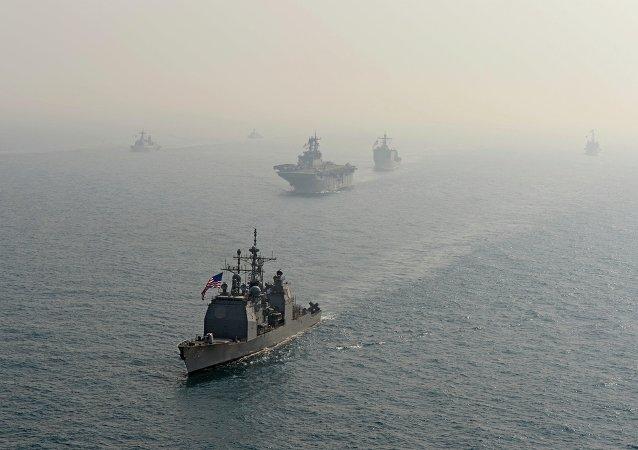Buques de la Armada estadounidense (Archivo)