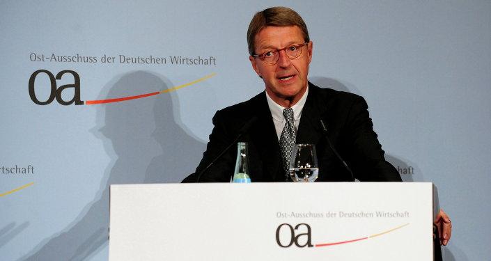 Eckhard Cordes, presidente del Comité de Alemania para las Relaciones Económicas con Europa Oriental