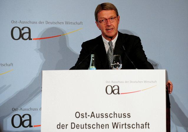 Eckhard Cordes, presidente del Comité Económico Alemán para Europa del Este