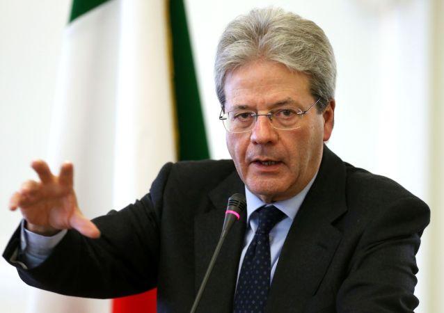 Paolo Gentiloni, el primer ministro de Italia