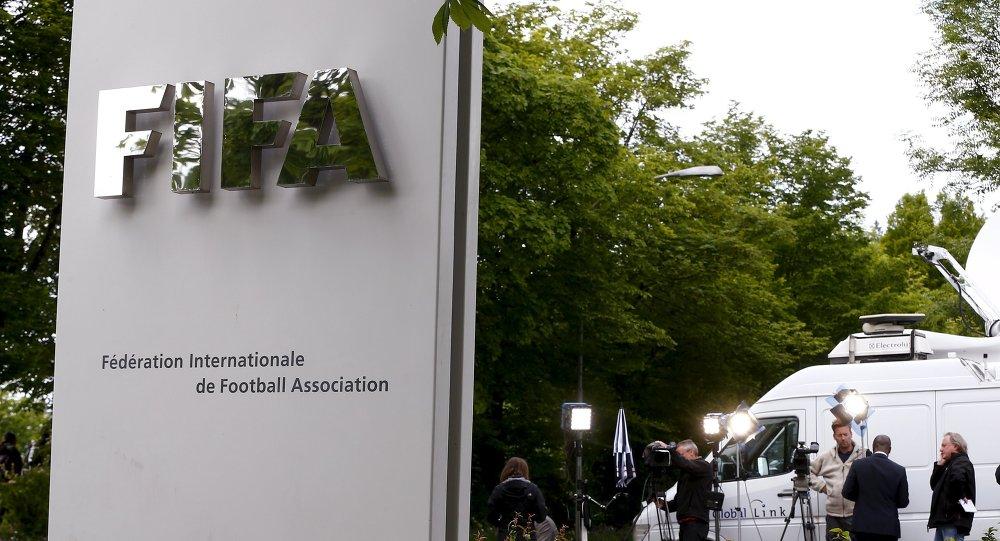 Entrada de la Federación Internacional de Fútbol