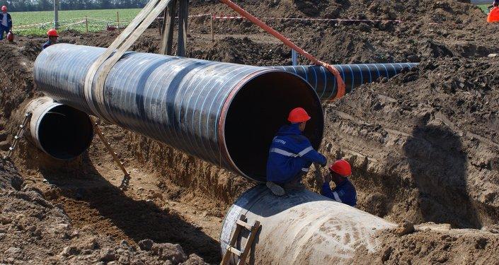 Un gasoducto (archivo)